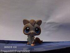 Littlest Pet Shop Brown Sugar Glider with Blue Eyes #1224