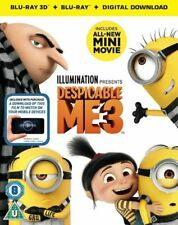 Despicable Me 3 3d 2d Blu-ray UK BLURAY