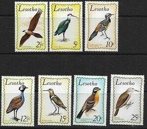 Lesotho 1971 Birds Part Set 2½c - 25c Superb MNH