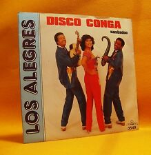"7"" Single Vinyl 45 Los Alegres Disco Conga 2TR 1981 (MINT) RARE ! Latin Pop"