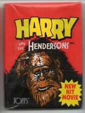 Topps Gum Wrapper Harry and The Hendersons 1987