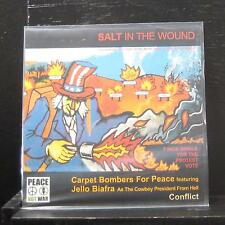 """Carpet Bombers For Peace / Conflict - Salt In The Wound 7"""" Mint- JUNG 66 UK 45"""