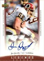 2006 Upper Deck Legends Legendary Signatures #64 Joe Jacoby AUTO - NM-MT