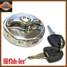 Jaguar E Type MK1 MK2 Locking Petrol Fuel Cap Polished Chrome Stainless Steel