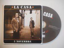 LA CASA : 2 NOVEMBRE [CD SINGLE PORT GRATUIT]