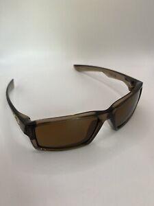 Oakley TWITCH Smoke Brown/Bronze #03-566 Sunglasses SIZE 53 - 16 NICE!!
