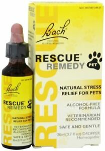 Bach Rescue Remedy Pet Natural Stress Relief 20 ml-  Free Shipping