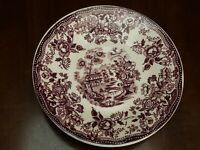 Royal Staffordshire PLUM TONQUIN Saucers LOT of 4