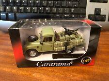 Cararama 1/43 Scale Land Rover - Military - Boxed