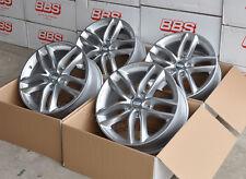 BBS SX Silber 4 Felgen 8x18 Zoll ET44 SX0103 für Seat Leon Typ 1P + 5F