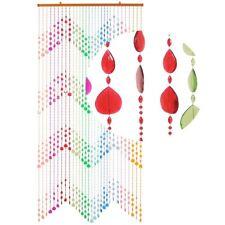 HAB & GUT Türvorhang KLUNKER, MEHRFARBIG, Kunststoff, 90 x 200 cm