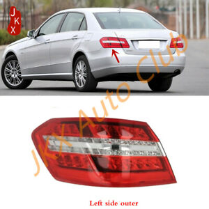 Left Driver Outer LED Rear Tail Light For Mercedes Benz W212 E-Class 2009-2013