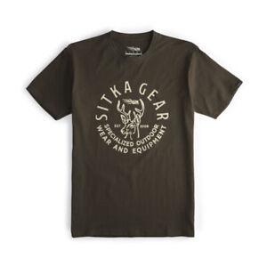 Sitka Six Point Earth Tee Shirt