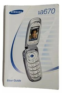 Samsung User Guide For SCHA670 Mobile Phone Half English Spanish Instructions