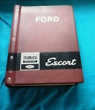 Ford Escort MK1 Ersatzteile Katalog Oldtimer