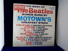 Motown's Greatest Stars ~ Sing The Best of The Beatles ~ Pop/Soul LP
