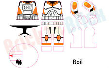 Lego Star Wars Clone 212th Attack Battallion Boil Custom Water Slide Decal