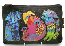 LAUREL BURCH Dogs & Doggies Cosmetic Bag ~ Makeup or Pencil Bag D ~ New