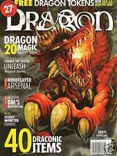 D&D d20 3rd Edition Dungeons & Dragon Magazine #308 Dragon Magic Mind Flayer!