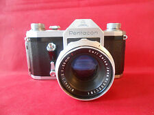 Pentacon Spiegelreflexkamera mit Objektiv Lens M42 Biotar 2/58 Carl Zeiss Jena