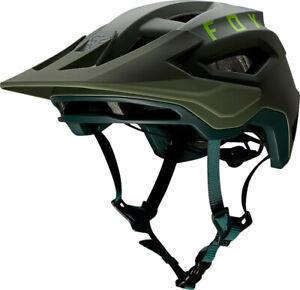 Fox Speedframe MTB Bike Helmet Pine