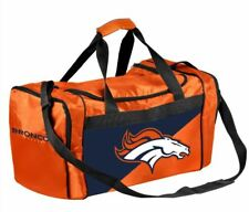 Denver Broncos Duffle Bag Gym Swimming Carry On Travel Luggage Tote - 2 Tone