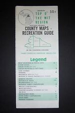 TOP O' THE MIT REGION, County maps Recreation Guide CHARLEVOIX, CHEBOYGAN, EMMET