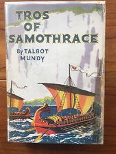 Tros Of Samothrace, by Talbot Mundy -1934- Rare 1st Ed.1st Ptg.Vintage H/C Book