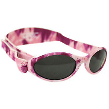 Childs Sunglasses Kidz Banz Adjustable Camo Pink Diva Girls Adventure Strap