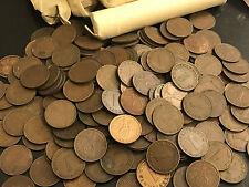 NAZI GERMANY 1 REICHSPFENNIG COPPER COINS SWASTIKA 1 RPFG REICH PFENNIG WWII WW2