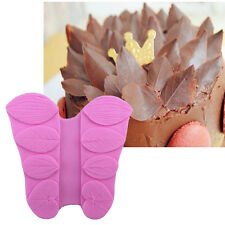 Hot Petal Flower Leaf Fondant Silicone  Cake Decor Chocolate Sugar Baking Mold