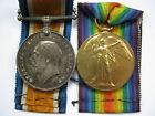 Great War pair War & Victory medal 43173 Pte W Nicol Durham Light Infantry