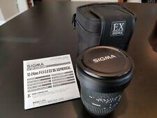 Sigma 12-24mm f/4.5-5.6 EX DG Aspherical Lens (Sony Alpha)