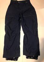 686 Snowboard Pants Blue Ace Cargo Pocket Unisex Size Small S Snow Ski B2