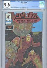 1994 VALIANT COMICS PSI-LORDS #1 CGC 9.6 1 OF 6 - CHROMIUM COVER - GIORDANO ART