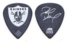 Machine Head Phil Demmel Signature Oakland Raiders Black Guitar Pick - 2011 Tour