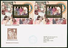 Mayfairstamps Guinea 1980s Rotary Perf & Imperf Souvenir Sheets combo First Day