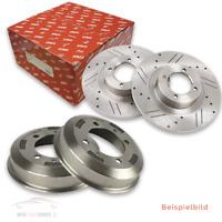 2 TRW Bremsscheibe Halbautomatik Schaltgetriebe Vollautomatik Vorderachse Voll Y