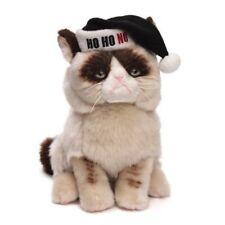 "Gund Grumpy Cat Ho Ho No Santa Hat Worst Christmas Holiday 9"" #4046085"