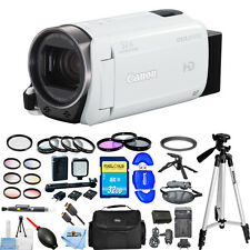 Canon VIXIA HF R700 Full HD Camcorder (White)!! ALL YOU NEED BUNDLE BRAND NEW!!