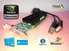 HP Compaq 8200 8300 Elite NVIDIA SFF Dual HDMI Video Card w/ 2 HDMI Adapters