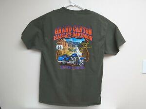 GRAND CANYON Bellemont AZ Harley-Davidson dealer  motorcycle shirt Large