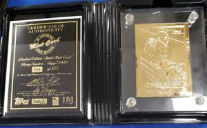 Barry Sanders 4.25 ozt .999 Fine Silver Bar COA Box