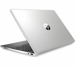 "HP 15.6"" Laptop Full HD Intel Core i5-1035G1 4GB RAM 256GB SSD Silver Windows 10"