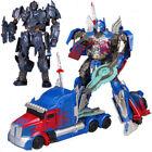 Optimus Prime Megatron Action FigureThe Last Knight KO Version Robot Car Toy