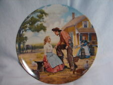 """Vintage Knowles Oklahoma! Collector Plate """"Oh, What a Beautiful Mornin"""""""