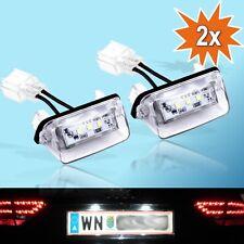LED Kennzeichenbeleuchtung Citroen C3 C4 C5 C6 Picasso Berlingo Saxo Xsara - 06
