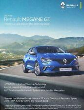 2016 Renault Megane GT Original Advertisement Print Art Car Ad K65