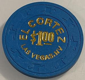 EL CORTEZ $1 Casino Chip Las Vegas Nevada 3.99 Shipping
