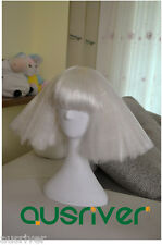 3 Colours Fashion Sweet Lady Women Hair Full Wig Cos Lady Gaga Party Costume